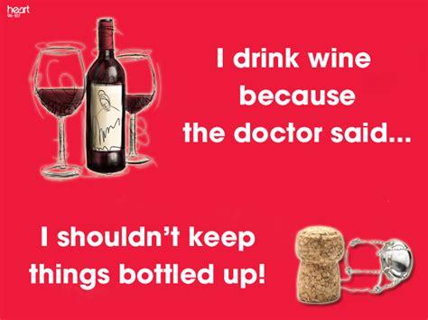 wine humor  drink wine   doctor