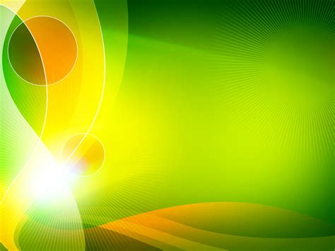 abstract powerpoint templates free flower light green figure backgrounds for powerpoint