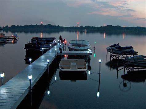 solar dock post lights 2pk solar dock post lights view all lake lite solar