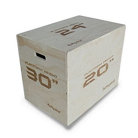 box 3in1 3 in 1 wooden plyo box flat packed