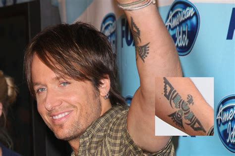 keith urban tattoo keith 50 tattoos stylebistro