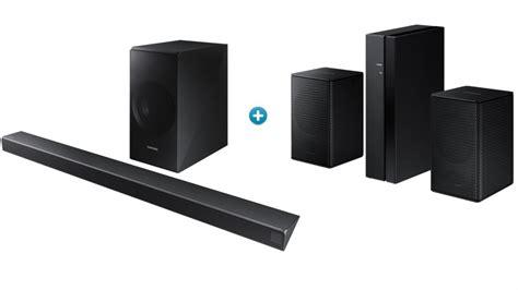 buy samsung 3 1 channel soundbar with wireless subwoofer and wireless rear speaker harvey