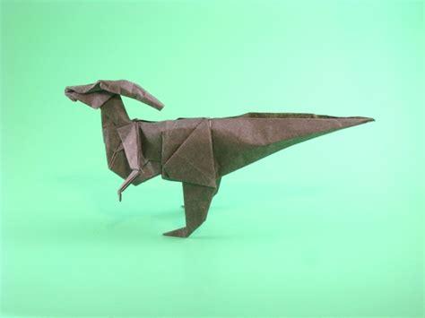 Origami Parasaurolophus - parasaurolophus fumiaki kawahata gilad s origami page
