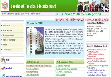 bteb result polytechnic result  diploma result
