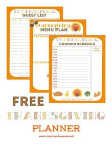 thanksgiving meal planner template thanksgiving planner 5 free printables