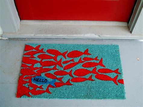 modern door mats   statement   door