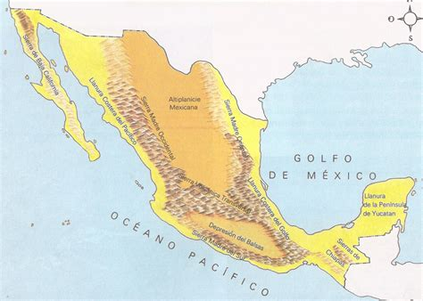 cadenas orograficas principales de mexico factores geogr 225 ficos geol 243 gicos y biogeogr 225 ficos que