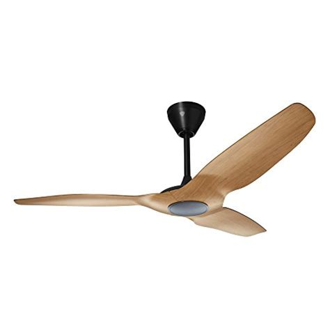 alexa controlled ceiling fan haiku home hk52cb l series indoor outdoor wi fi enabled