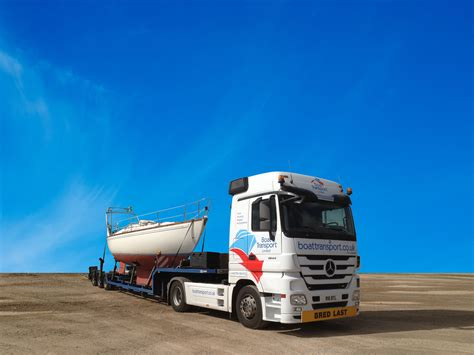 boat transport uk boat transport and haulage by road across the uk europe