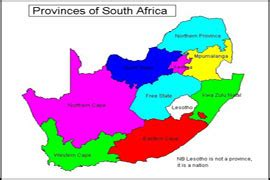 9 provinces south africa map car hire cape town car mania south africa