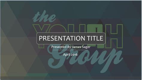 Free Youth Ministry Powerpoint Template 4229 Sagefox Youth Powerpoint