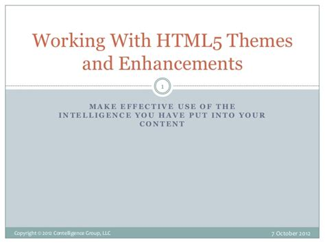 html5 themes adaptive working with html5 themes and enhancements