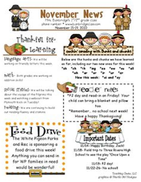 november newsletter template newsletter idea for children s ministry age groups memory