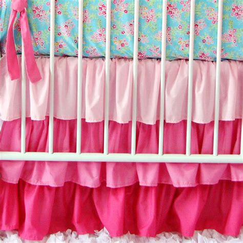 light pink crib skirt 1000 images about natalie s nursery on