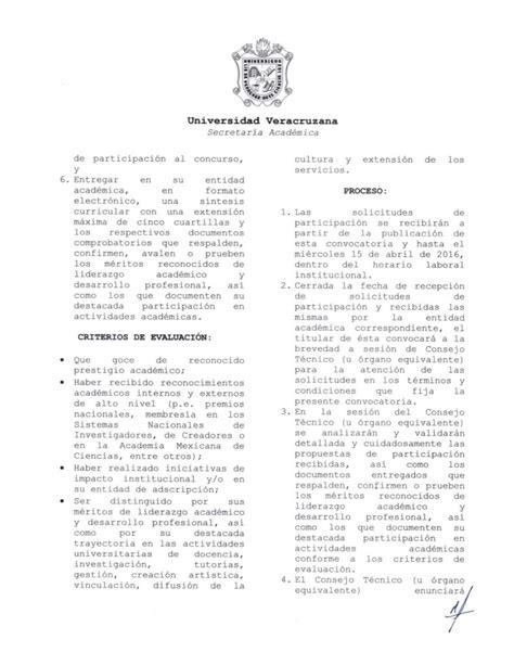 convocatoria en pela 2016 convocatoria premio al decano 2016 secretar 237 a acad 233 mica