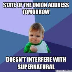 Union Memes - cw no state of the union