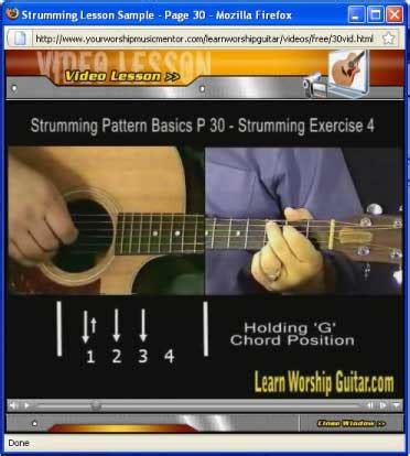 strumming pattern carry you home online praise guitar lessons worship guitar lessons