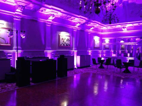 mood lighting uplights venue lighting