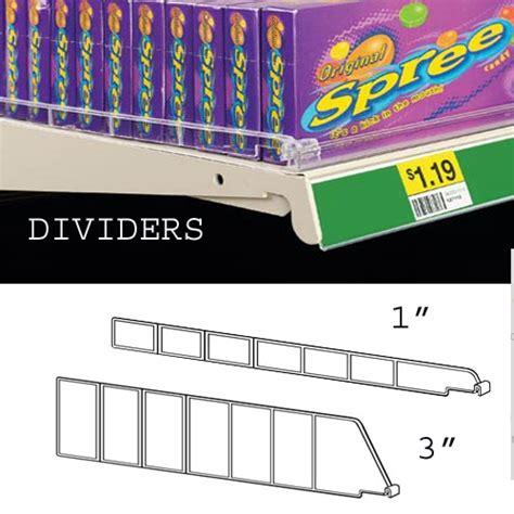Gondola Shelf Dividers by Gondola Plastic Shelf Dividers Per 10 Pieces Discount