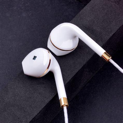 New Headset Earphone W3 Stereo Bass new in ear earphone for apple iphone 5s 6s 5 xiaomi bass earbud headset stereo headphone for