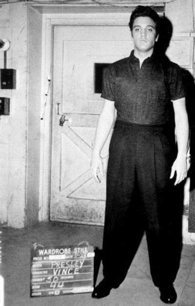 elvis wardrobe elvis wardrobe test on the set of jailhouse rock in