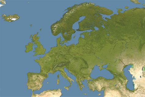map of europe images bestand europe satellite image location map jpg