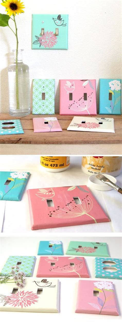 diy designer switchplates diy home decor ideas on a