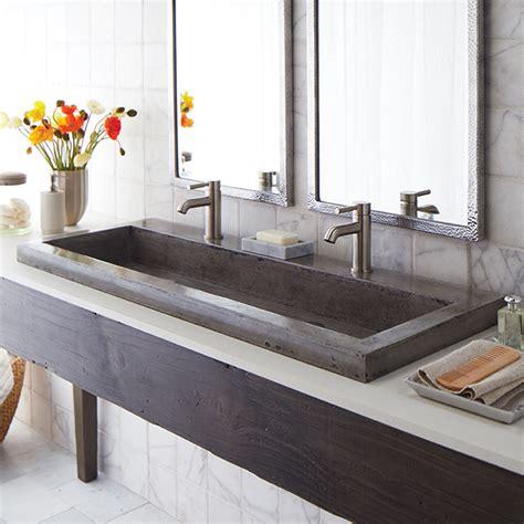 stone trough sink bathroom native trails trough 48 quot stone bath sink reviews wayfair