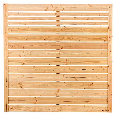 Bauhaus Sichtschutz Holz by Rettenmeier Sichtschutzelement Neo 180 X 180 Cm Gerade