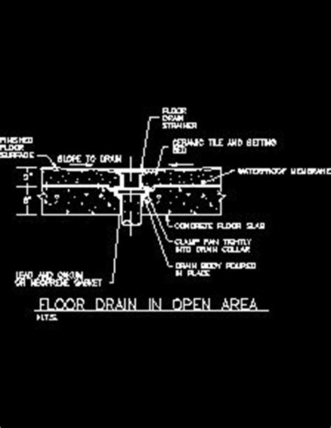 Commercial Sink Drains by Site Sanitary Waste Systems Sample Drawings