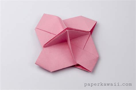 Origami Money Holder - origami card holder paper kawaii