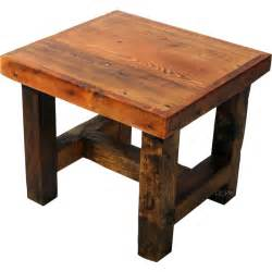Wood End Tables How To Build Barn Wood End Table Plans Pdf Plans