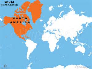 world america map america continent in world map