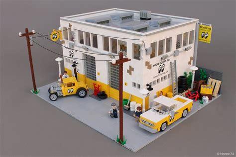 LEGO MOC: Mooneyes Hauptquartier der 60er Jahre