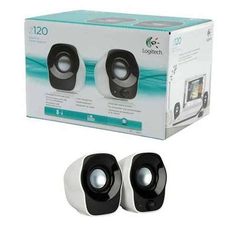 Speaker Mini Logitech logitech usb mini speaker white