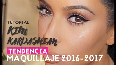 tutorial youtube maquillaje tutorial de maquillaje kim kardashian tendencia 2016