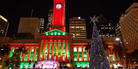 lighting of the brisbane city christmas tree edition