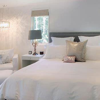 brown headboard transitional bedroom elsa soyars silver floor mirror transitional bedroom