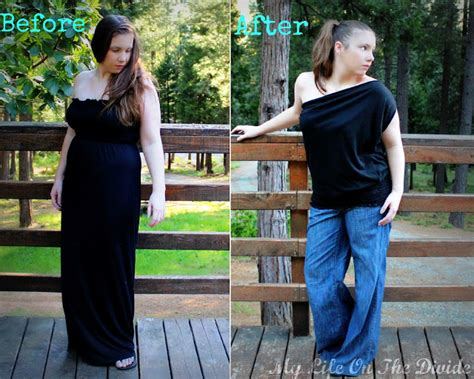 Cleverly 2 Maxi my on the divide how to refashion a maxi dress in to