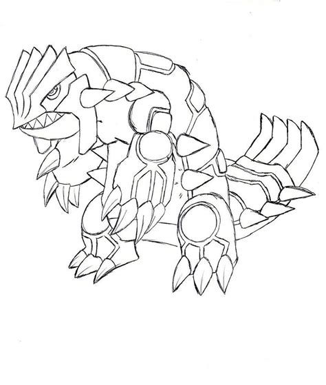 groudon coloring pages coloring home