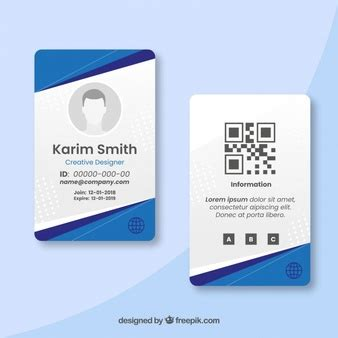 Company Id Card Template Cdr by Id Cards Vectors Photos And Psd Files Free