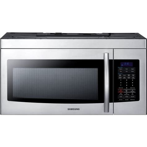 samsung under cabinet microwave installation samsung smh1713s 1 7 cubic foot over the range microwave