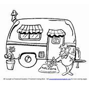 Wwwpreschoolcoloringbookcom / Camping Coloring Page