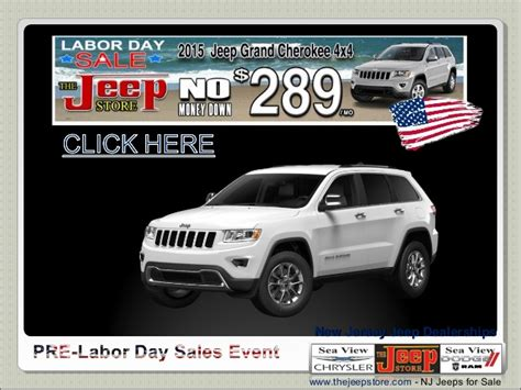 Jeep Dealers South Jersey New Jersey Jeep Dealership Labor Day Sales Event