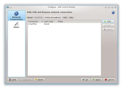 Modem Smartfren Huawei instalasi dan konfigurasi modem smartfren huawei ec176 2 pada fedora 18 kde