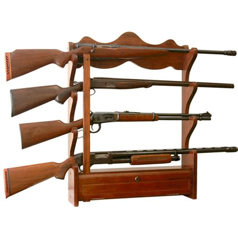 Wall Hanging Gun Rack by American Furniture Classics 4 Gun Wall Rack Walmart