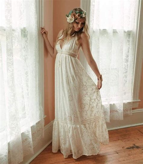 Hippie Wedding Dresses by The Hippie Wedding Dress For Brides Who Wants Something