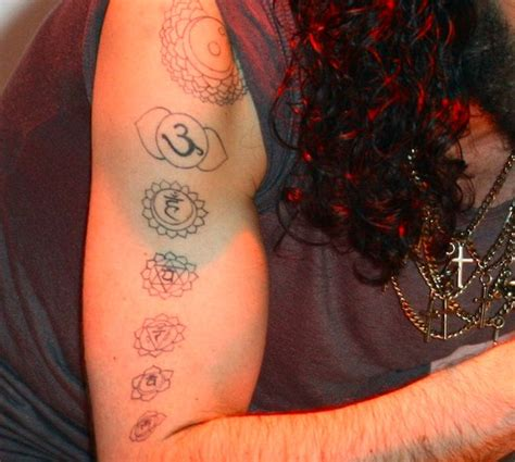 russell brand tattoos actors conspirazzi