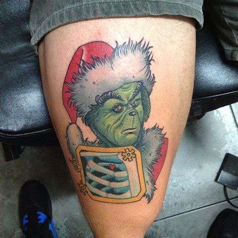 grinch tattoo designs grinch by dan molloy tattoos