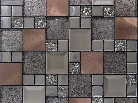 Kaos Metal No 97 kaos silver vacker mosaik i silver och kopparf 228 rg